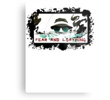 Fear and Loathing Metal Print