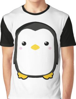 Kawaii Penguin Graphic T-Shirt