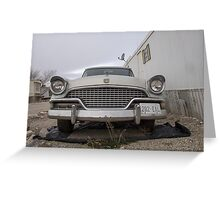 1956 Studebaker Grill Greeting Card