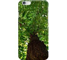 Tree with Green Leaves iPhone Case/Skin