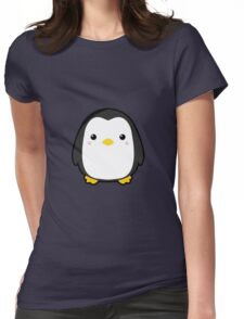 Kawaii Penguin Womens Fitted T-Shirt