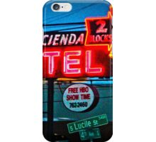 Motel Inn Color iPhone Case/Skin