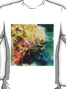Arrow Crab on Coral Reef T-Shirt
