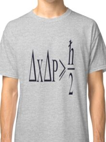Heisenberg uncertainty principle Classic T-Shirt