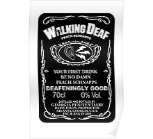 Walking Deaf Peach Schnapps Poster