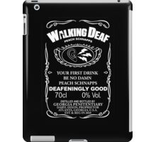 Walking Deaf Peach Schnapps iPad Case/Skin
