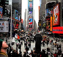 Time Square by MLGrenier