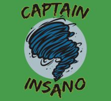 Captain Insano Kids Tee