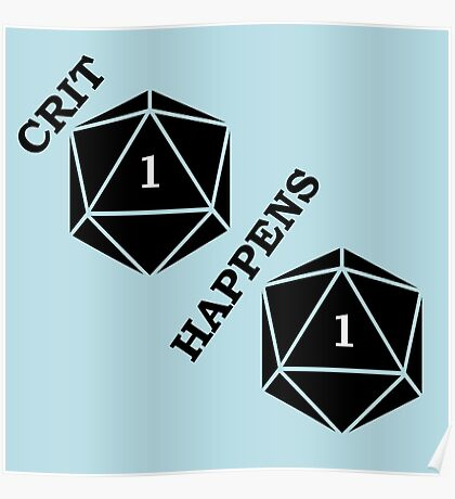 Dungeons and Dragons: Crit Happens Poster