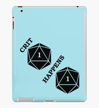 Dungeons and Dragons: Crit Happens iPad Case/Skin