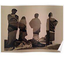 Accidental Dali Collage. Poster