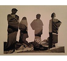 Accidental Dali Collage. Photographic Print