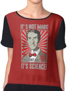 Official Bill Nye - It's Science Shirt Chiffon Top
