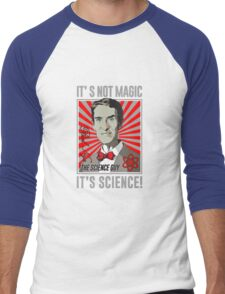 Official Bill Nye - It's Science Shirt Men's Baseball ¾ T-Shirt
