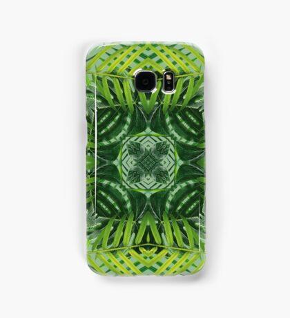 Lush Green Kaleidoscope Samsung Galaxy Case/Skin