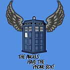The Angels Have the Phone Box - Doctor Who by LaainStudios
