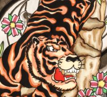 Japanese tiger  Sticker