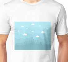City is flat Unisex T-Shirt