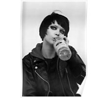 Crystal Castles Alice Glass T-Shirt  Poster