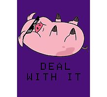 DEAL WITH WADDLES Photographic Print