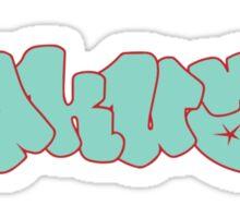 Akua Graffiti Sticker