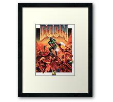 Doom - 1993 Poster PC FPS  Framed Print