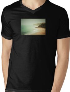 pastel green haze Mens V-Neck T-Shirt