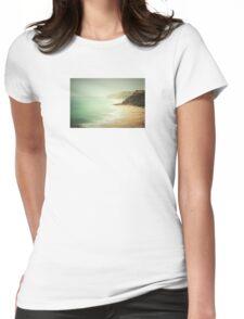 pastel green haze Womens Fitted T-Shirt