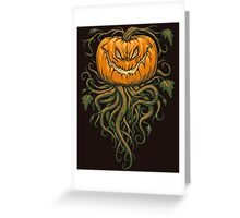 The Great Pumpkin King Greeting Card