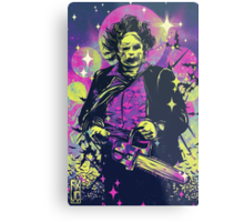 Leatherface  Metal Print