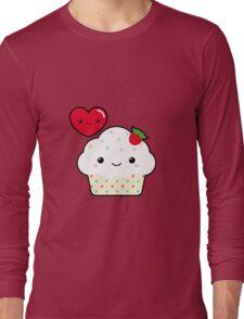 Kawaii cupcake Long Sleeve T-Shirt