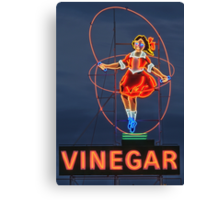 Skipping Girl Vinegar • Melbourne • Victoria Canvas Print