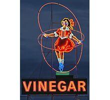 Skipping Girl Vinegar • Melbourne • Victoria Photographic Print