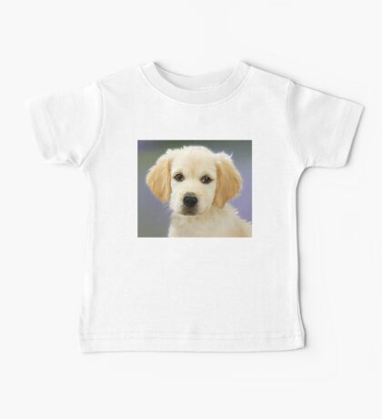 Golden Retriever puppy portrait Baby Tee