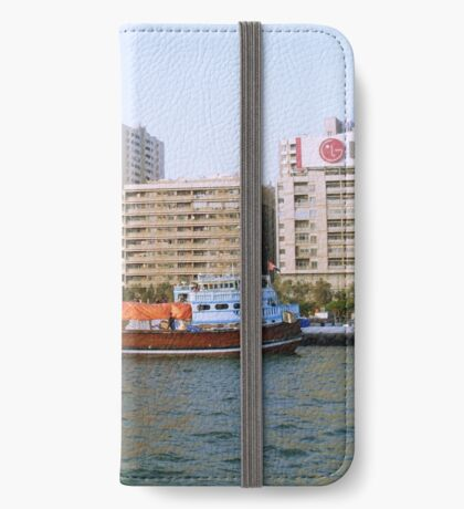 Wooden Cargo Boat iPhone Wallet/Case/Skin