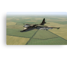 Sukhoi Su-25 Frogfoot Canvas Print