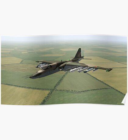Sukhoi Su-25 Frogfoot Poster