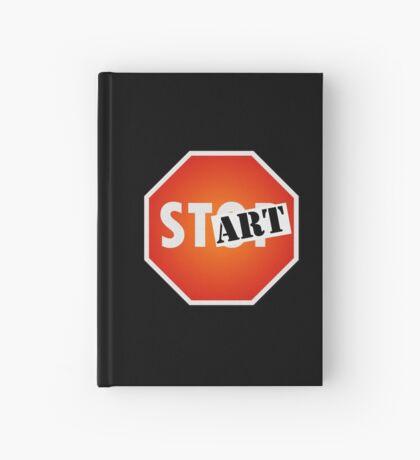 STOP/Start/ART Hardcover Journal