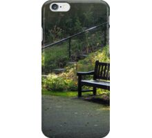 Rest in a peaceful place iPhone Case/Skin