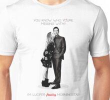 I'm Lucifer freaking Morningstar Unisex T-Shirt