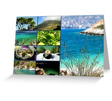 Collage/Postcard from Albania 4 - Travel Photography Greeting Card