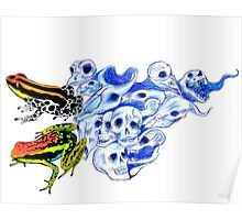 Poison Frogs Poster