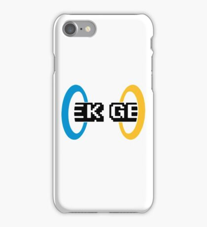 Geek Portal iPhone Case/Skin