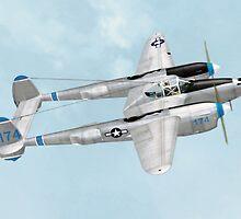 John Edgar Purdy's Lockheed P-38 Lightning by Walter Colvin