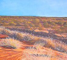 Outback Broken Hill by Elizabeth Moore Golding