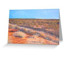 Outback Broken Hill Greeting Card
