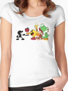Smashing Food Women's Fitted Scoop T-Shirt