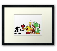 Smashing Food Framed Print