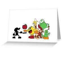 Smashing Food Greeting Card
