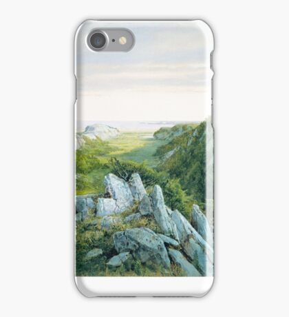 From Paradise to Purgatory, Newport , William Trost Richards iPhone Case/Skin